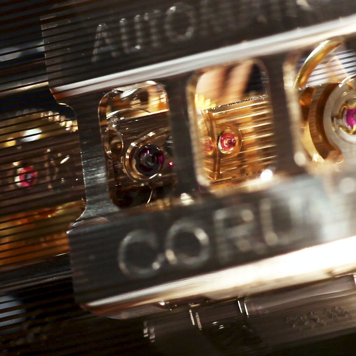 The Watch Quote: Photo - Corum Golden Bridge Automatic