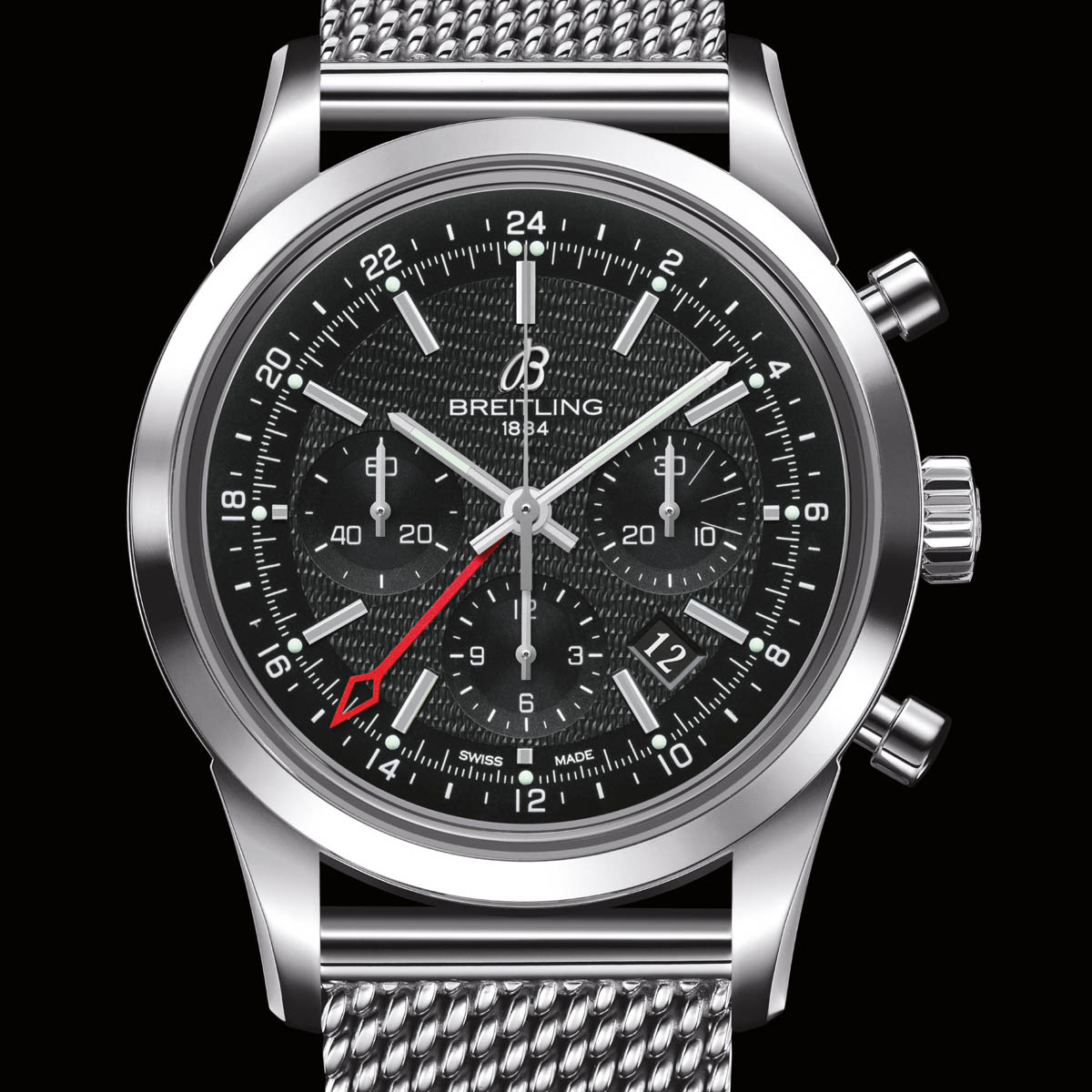 The Watch Quote: Photo - Breitling Transocean Chronograph GMT