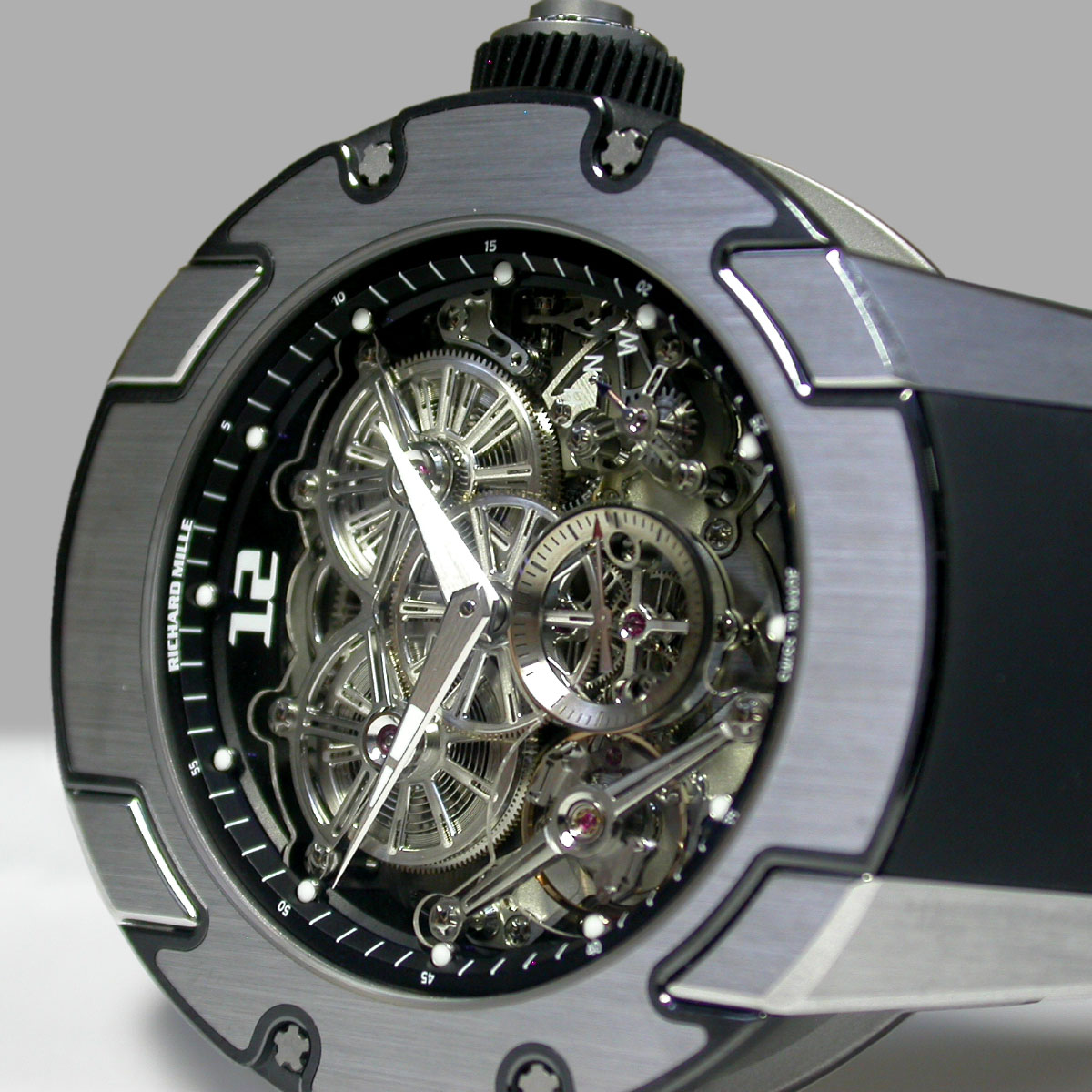 The Watch Quote: Photo - The RM 031 and the Richard Mille High Performance Certificate