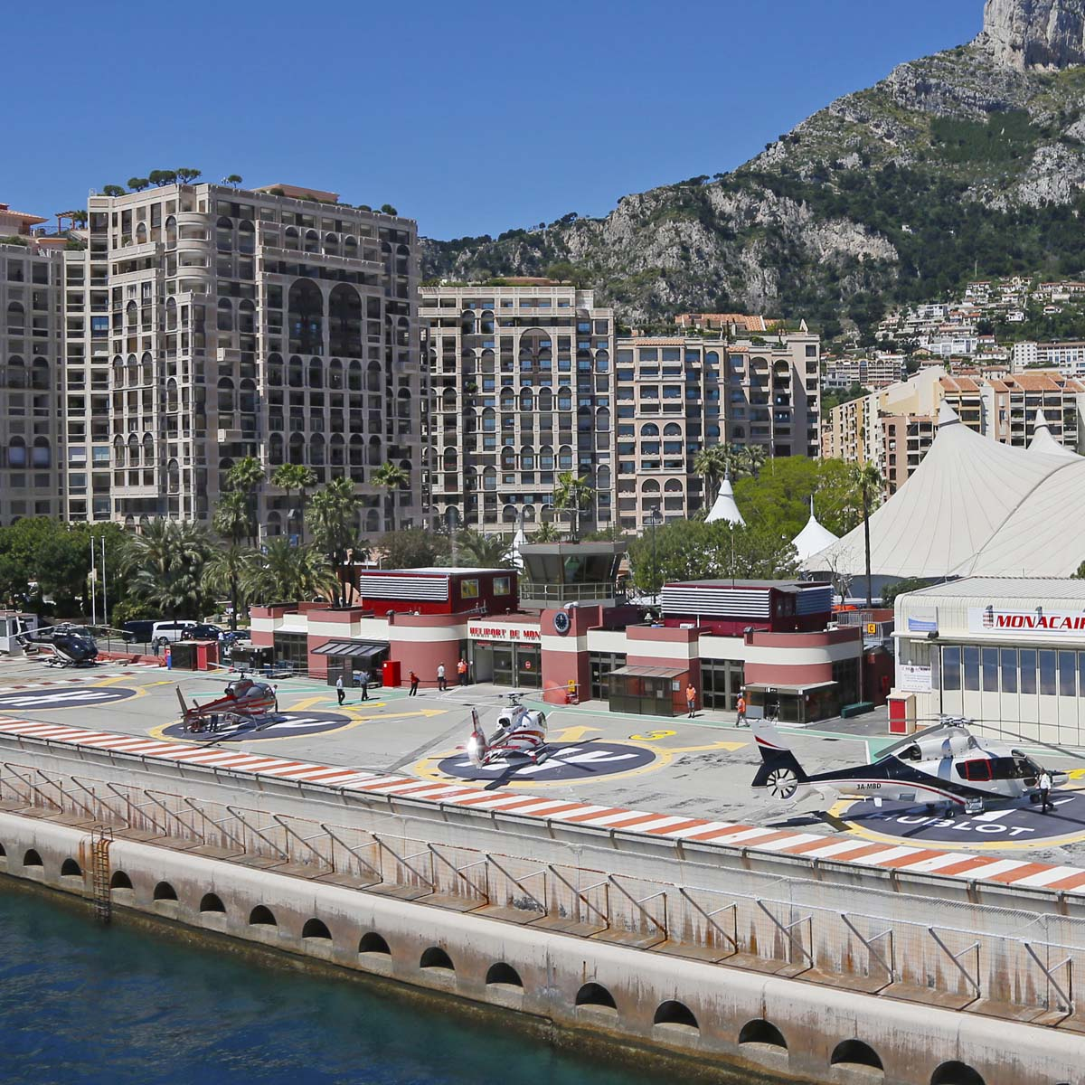 The Watch Quote: Photo - H for Hublot on Monaco helipads