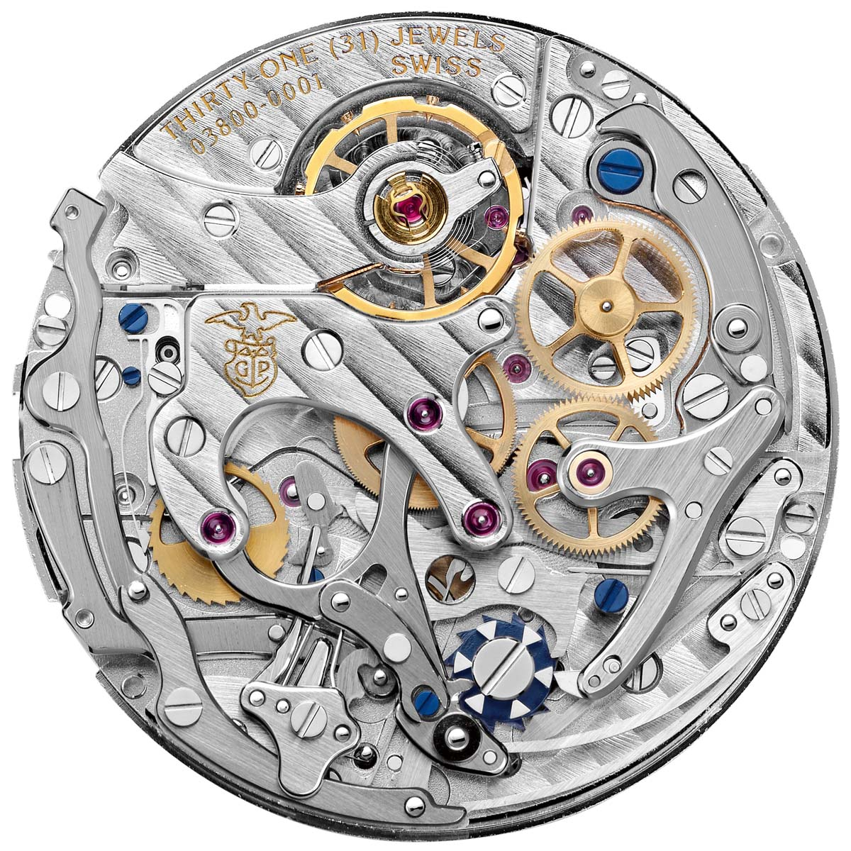 La Cote des Montres : Photo - Girard-Perregaux 1966 chronographe à roue à colonnes