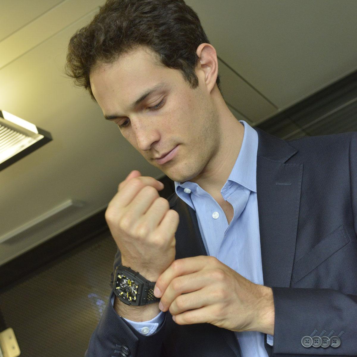 La Cote des Montres : Photo - Hublot MP-06 Senna