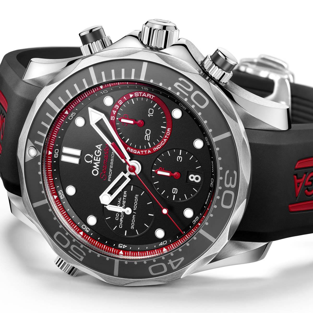 La Cote des Montres : Photo - Omega Seamaster Diver ETNZ Limited Edition