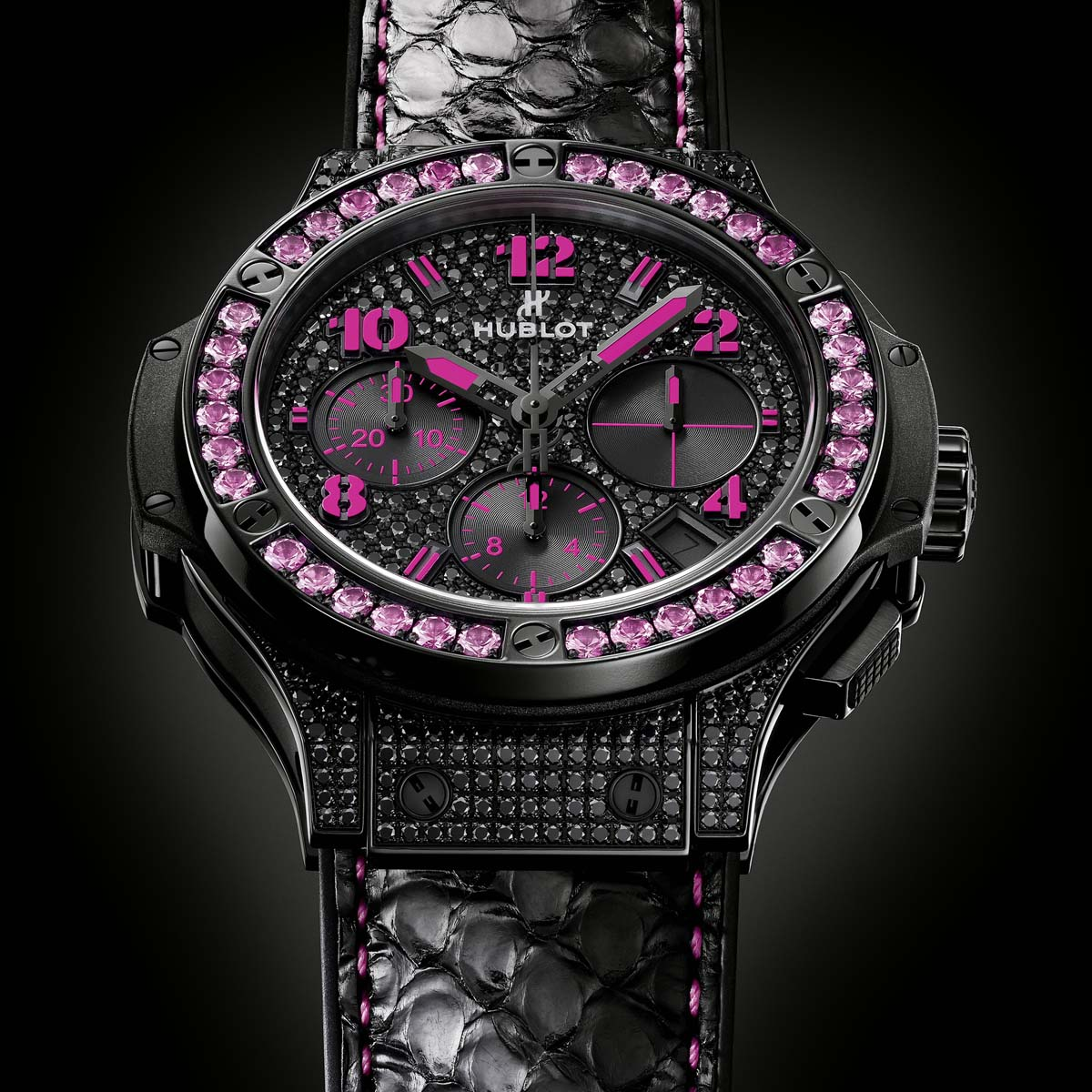 The Watch Quote: Photo - Hublot Big Bang Black Fluo - Summer 2013