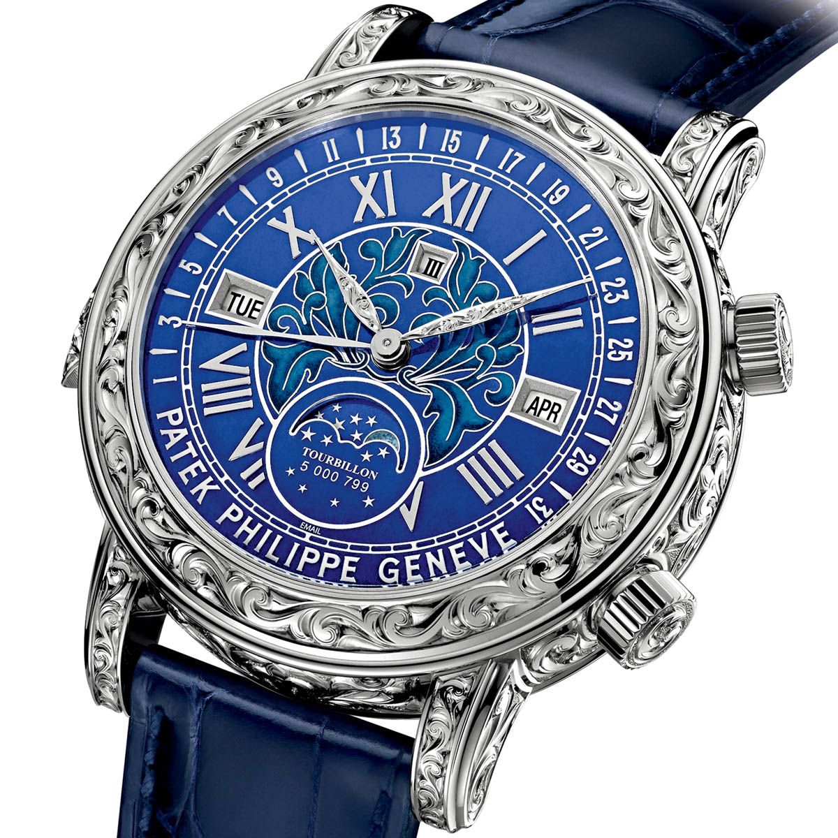 The watch quote photo patek philippe sky moon tourbillon ref 6002 for Patek philippe tourbillon