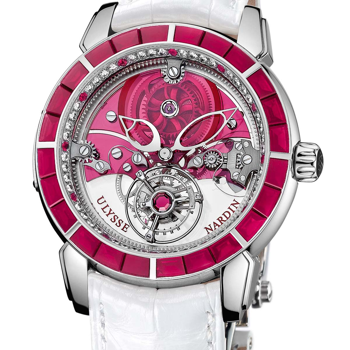 La Cote des Montres : Photo - Ulysse Nardin Royal Ruby Tourbillon