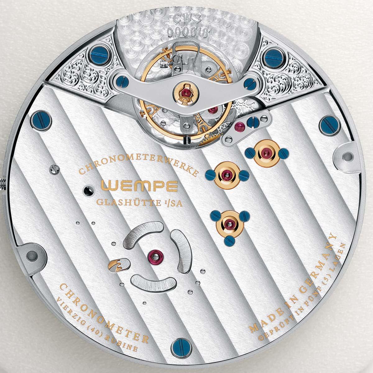 La Cote des Montres : Photo - Wempe Chronometerwerke Glashütte I/SA