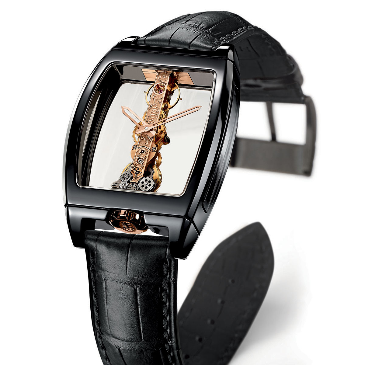 The Watch Quote: Photo - Corum Golden Bridge Ceramic