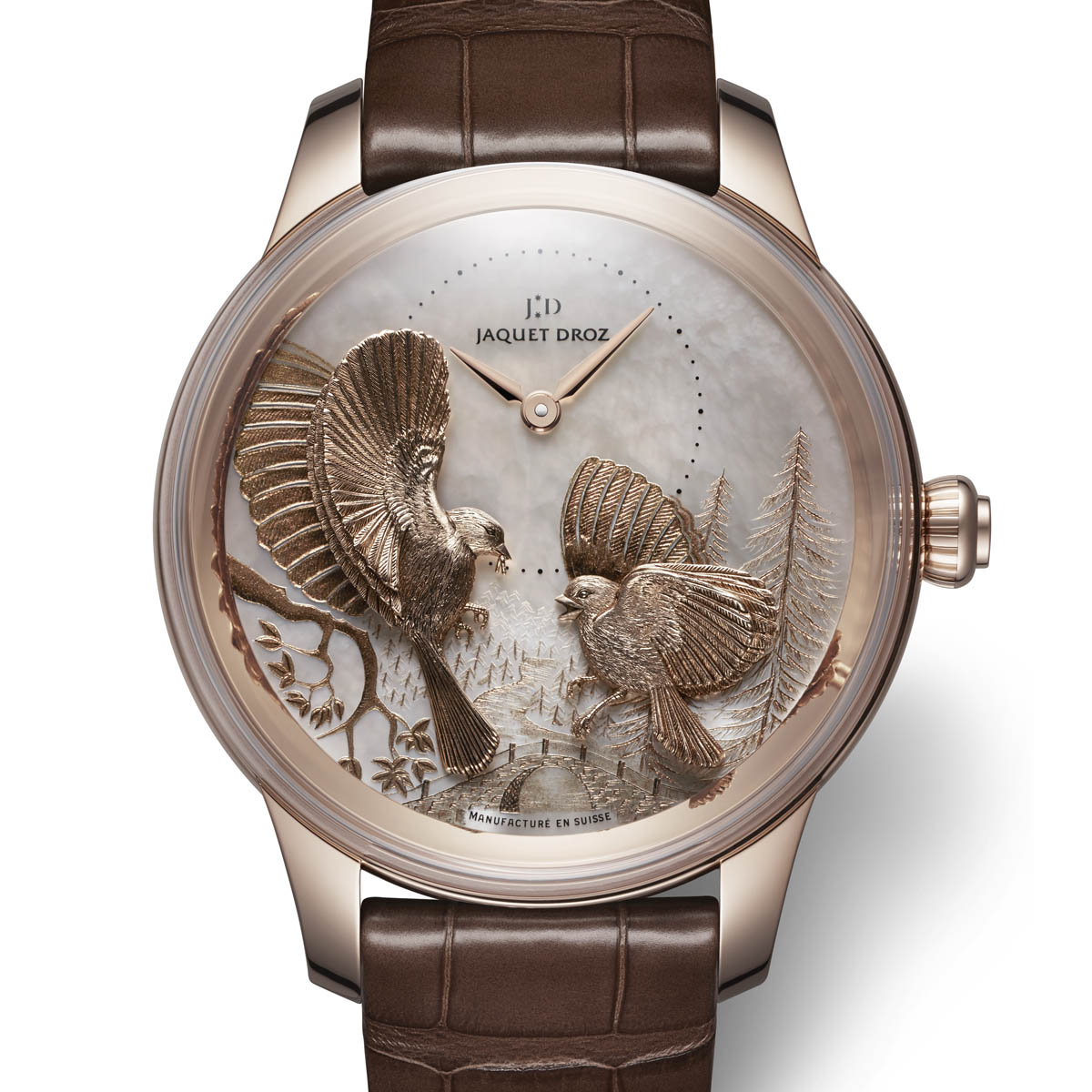 The Watch Quote: Photo - Jaquet Droz Petite Heure Minute Relief Seasons