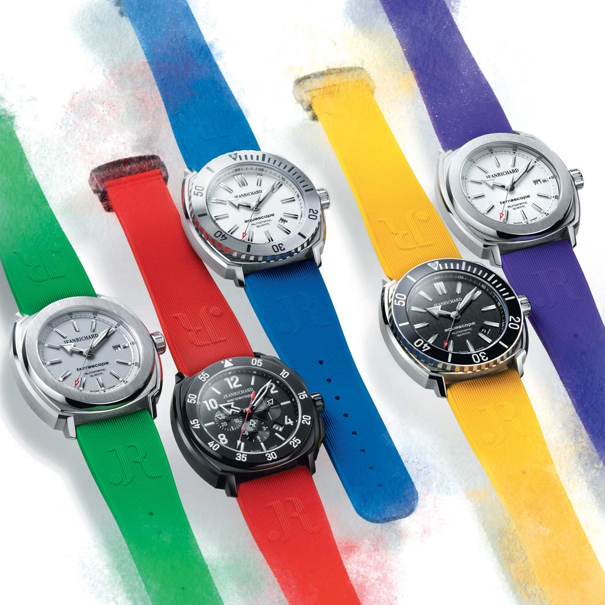 The Watch Quote: Photo - JeanRichard creates a summer of colour
