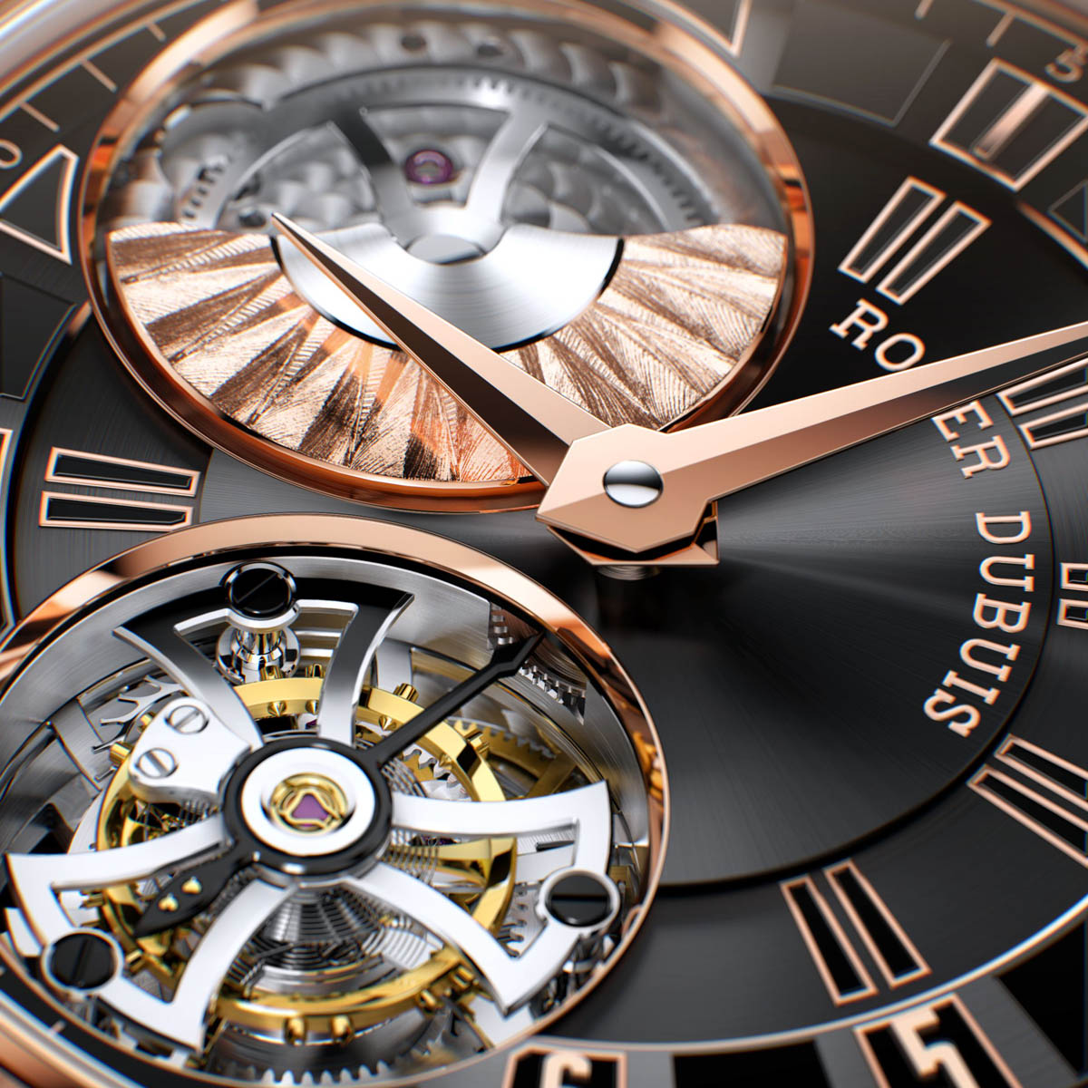 La Cote des Montres : Photo - Roger Dubuis Tourbillon Volant La Monégasque Only Watch 2013