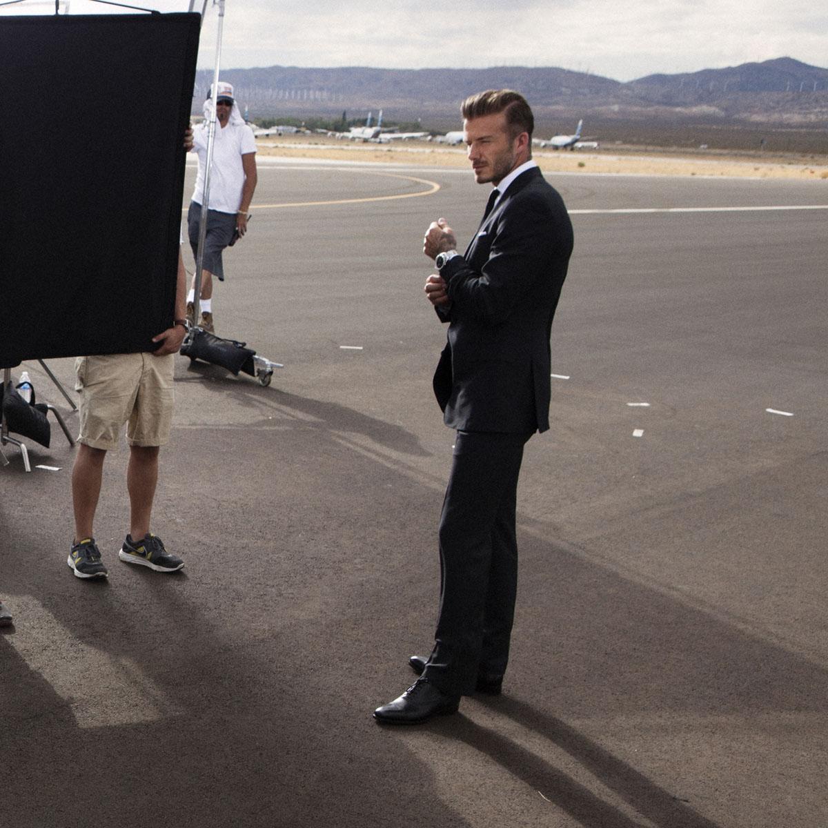 La Cote des Montres : Photo - David Beckham est le visage de Breitling for Bentley