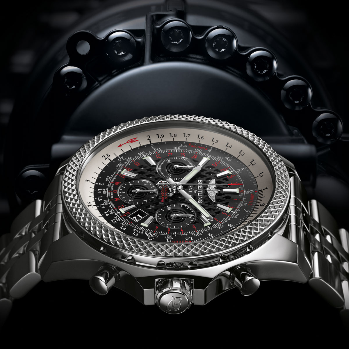 La Cote des Montres : Photo - David Beckham est le visage de Breitling for Bentley