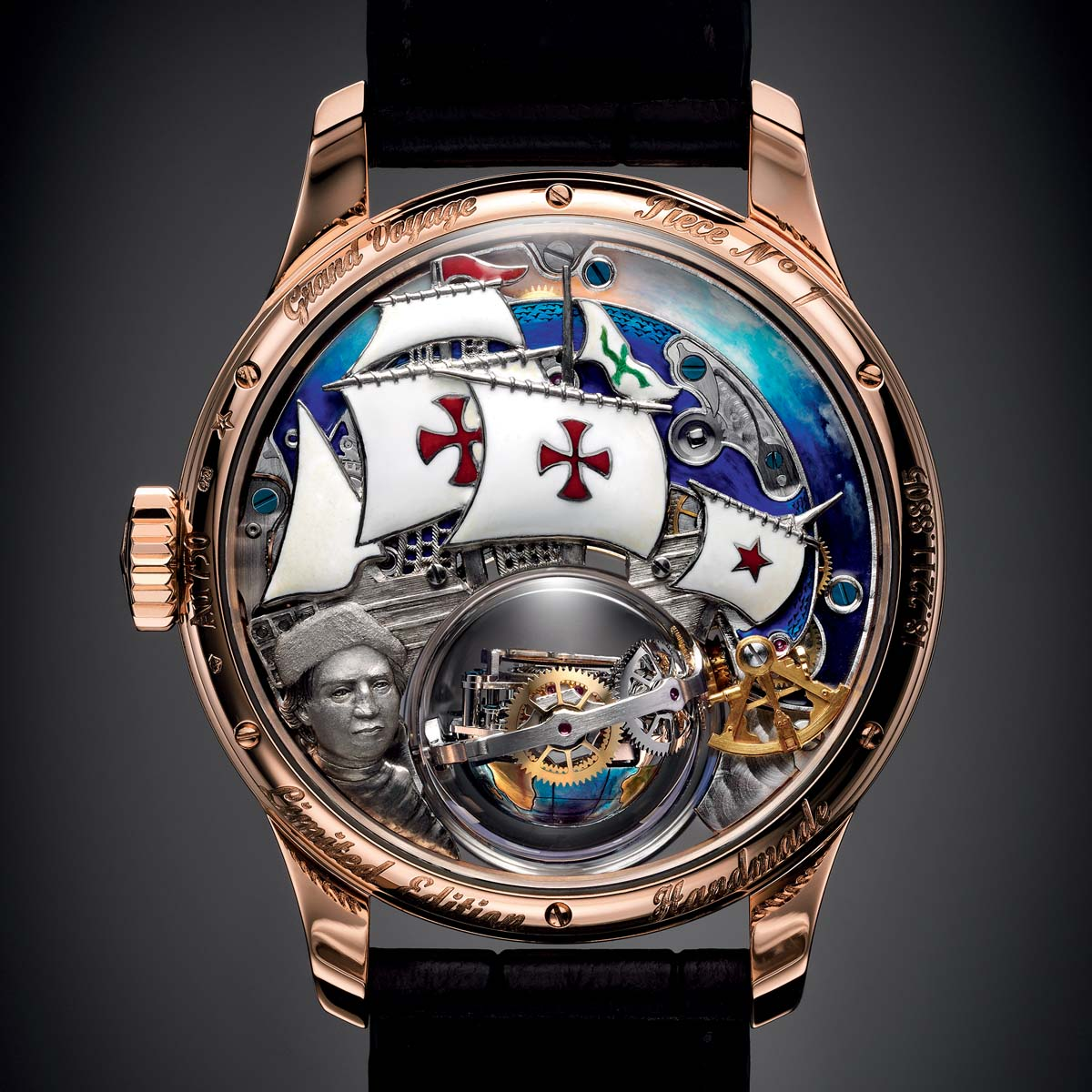 La Cote des Montres : Photo - Zenith Academy Christophe Colomb  Hurricane grand voyage
