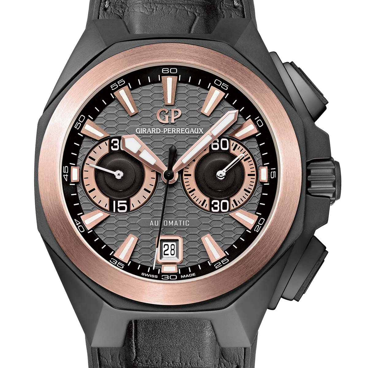 La Cote des Montres : Photo - Girard-Perregaux Chrono Hawk Hollywoodland