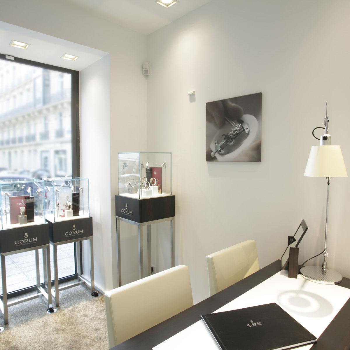 La Cote des Montres : Photo - Corum ouvre une nouvelle boutique à Paris