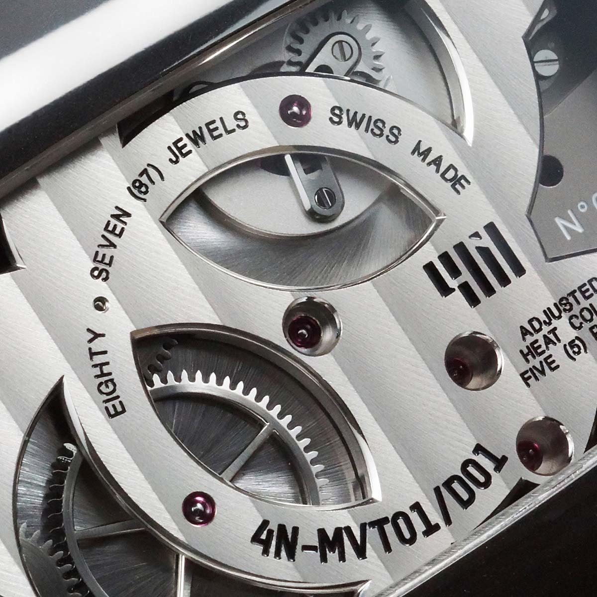 La Cote des Montres : Photo - 4N MVT-01/D01 Titane poli et microbillé