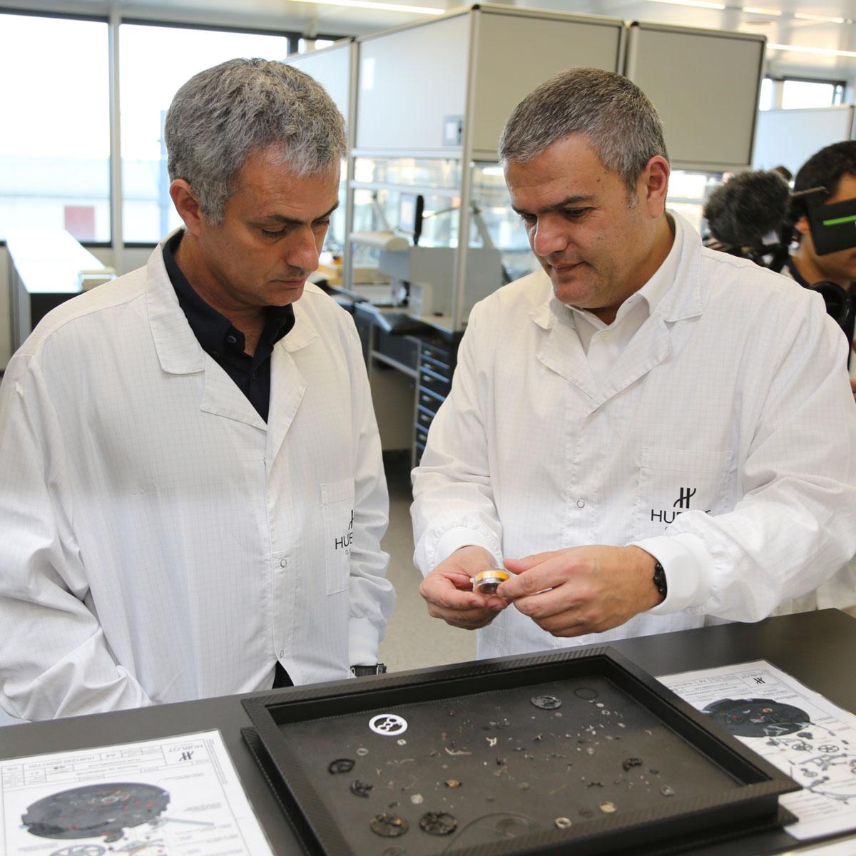 La Cote des Montres : Photo - Football : José Mourinho « The Special One » choisit Hublot