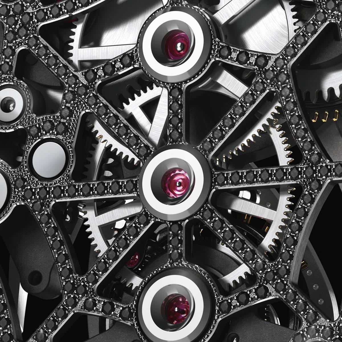 La Cote des Montres : Photo - Richard Mille RM 19-01 Natalie Portman