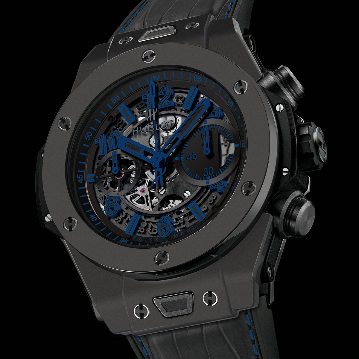 La Cote des Montres : Photo - Hublot Big Bang Unico All Black