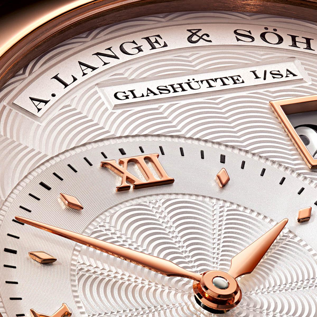 La Cote des Montres : Photo - A. Lange Söhne Lange 1 « 20th Anniversary »