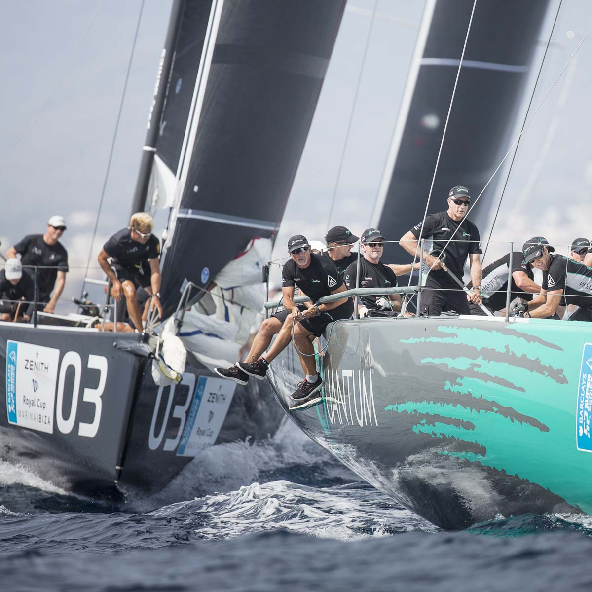 La Cote des Montres : Photo - Palpitant week-end de finale de la Zenith Royal Cup Marina Ibiza