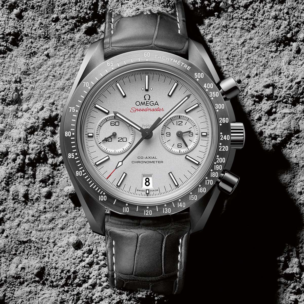 La Cote des Montres : Photo - Omega Speedmaster « Grey Side of the Moon »