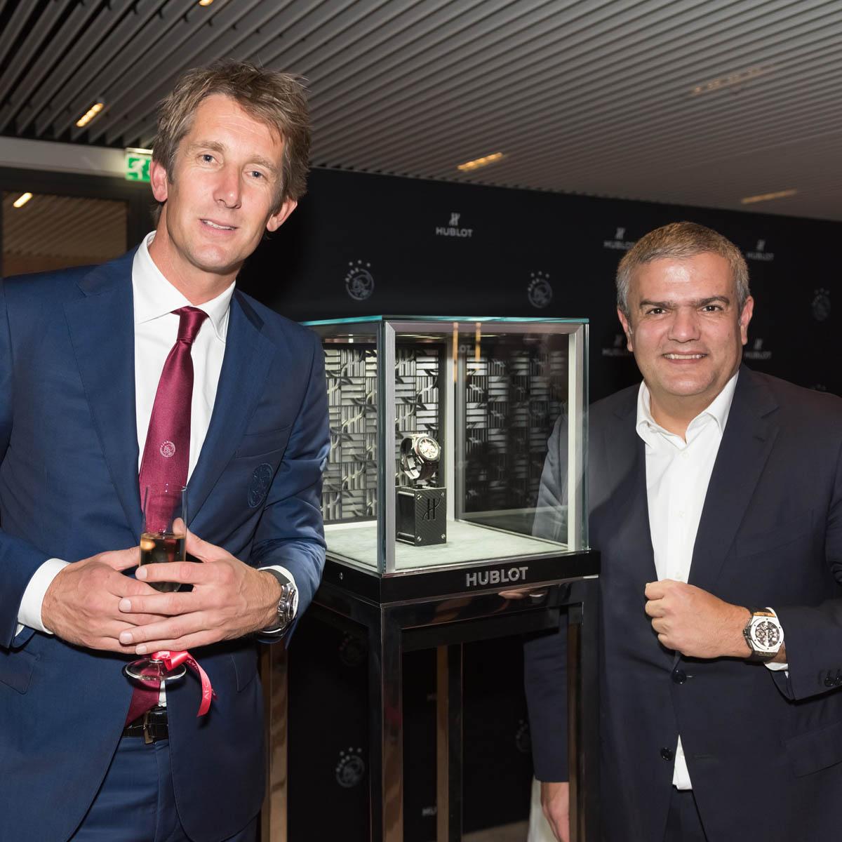 La Cote des Montres : Photo - Hublot et l'Ajax prolonge leur partenariat
