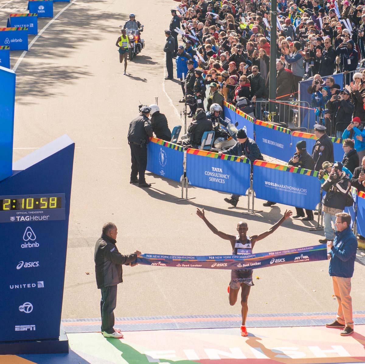 La Cote des Montres : Photo - TAG Heuer et les marathons
