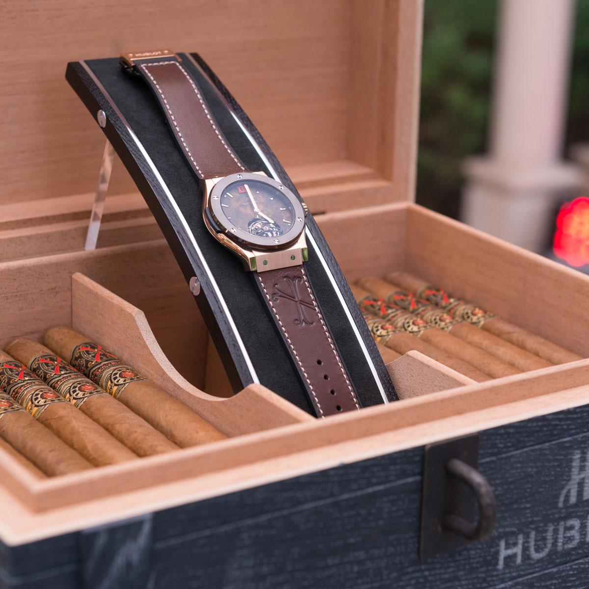 La Cote des Montres : Photo - Hublot présente à Dubaï la montre « ForbiddenX »