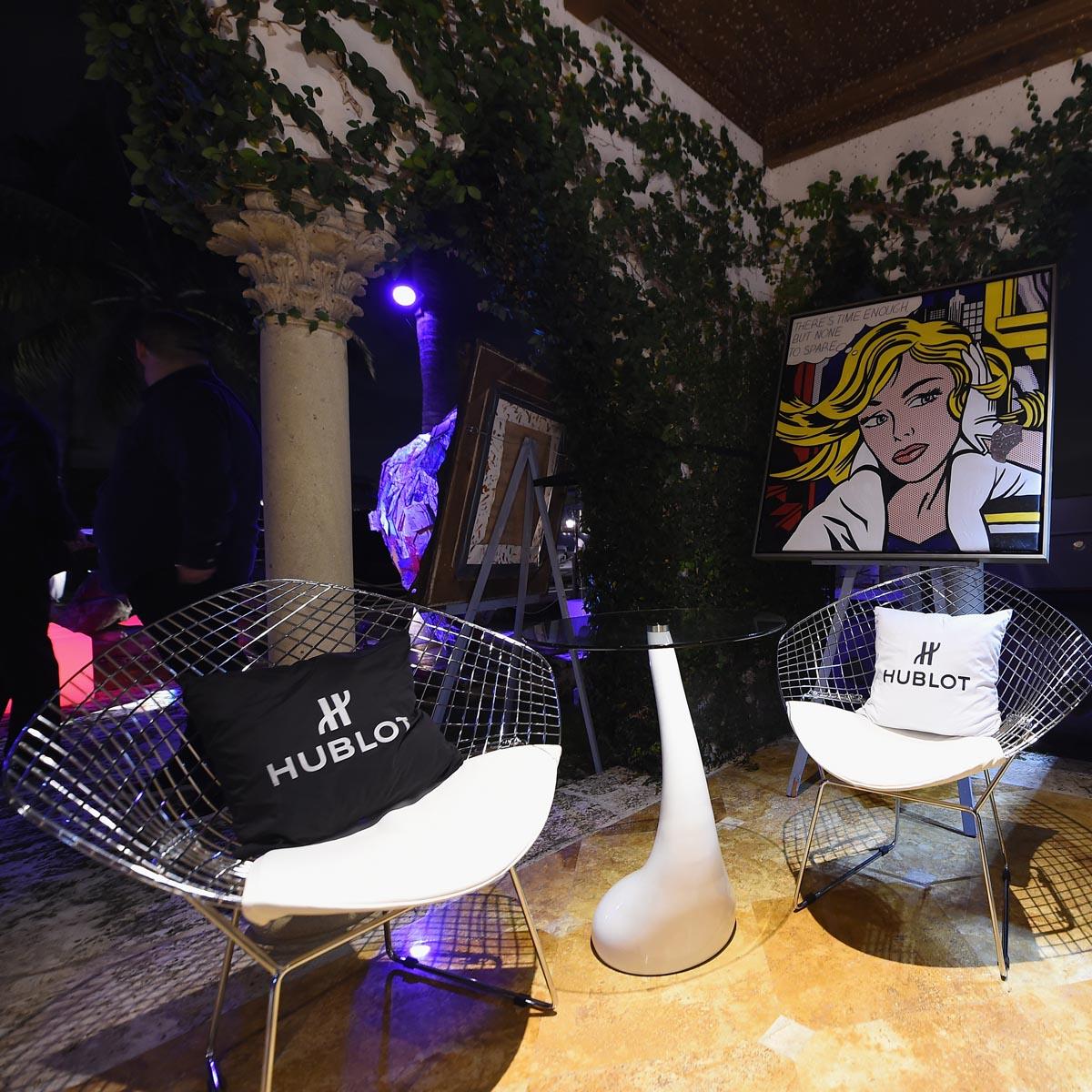 La Cote des Montres : Photo - Hublot : La première « Hublot Galerie » ouvre à Miami dans le quartier branché du Design District