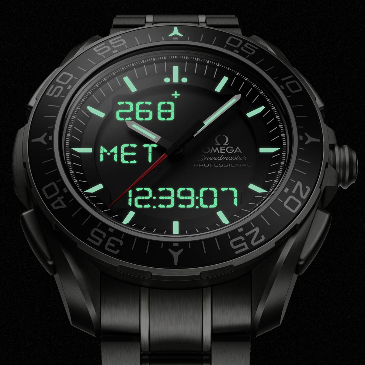 La Cote des Montres : Photo - Omega Speedmaster Skywalker X-33