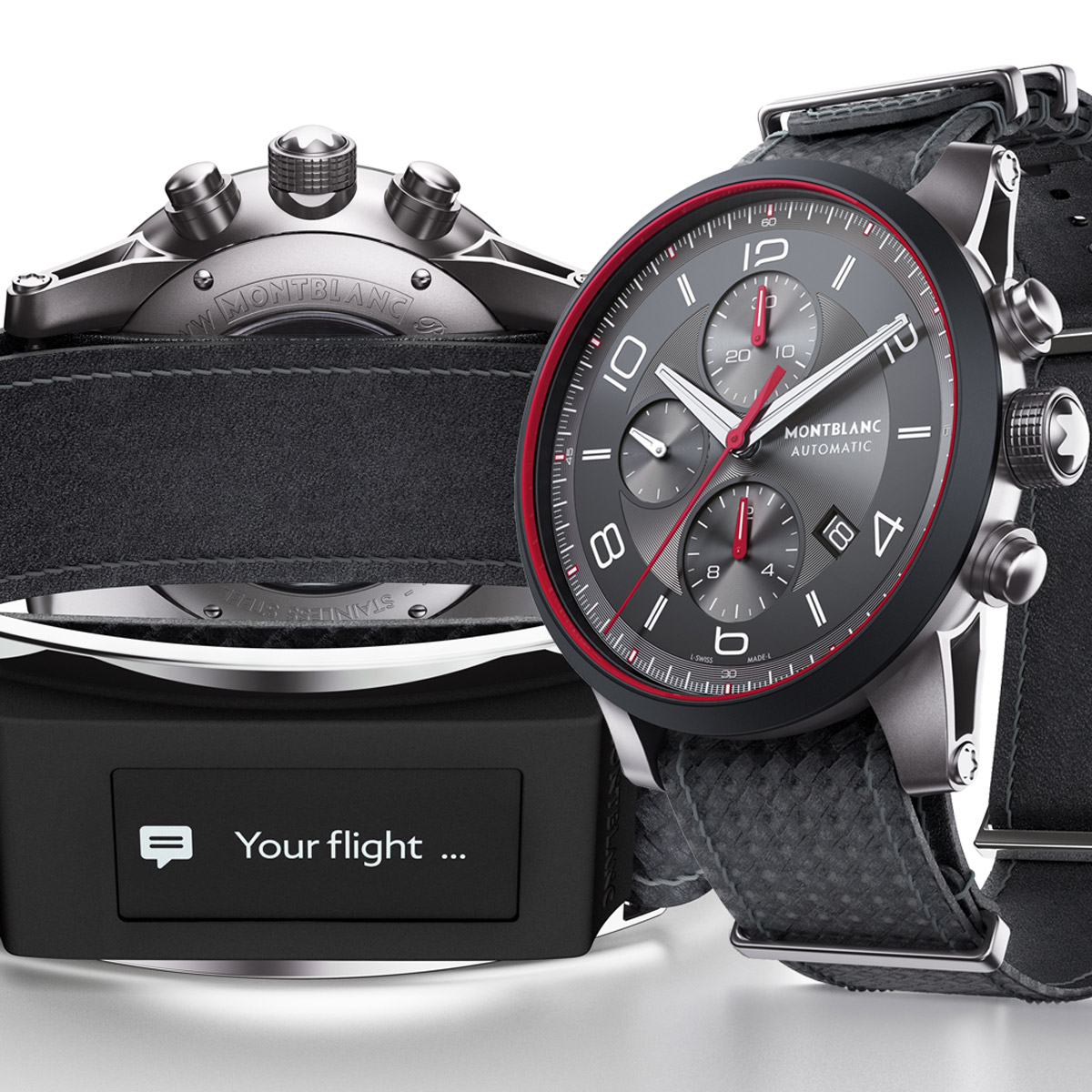 La Cote des Montres : Photo - Montblanc TimeWalker Urban Speed e-Strap