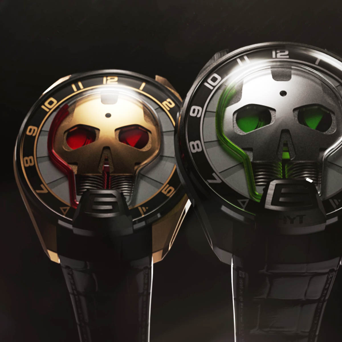 The Watch Quote: Photo - HYT Skull