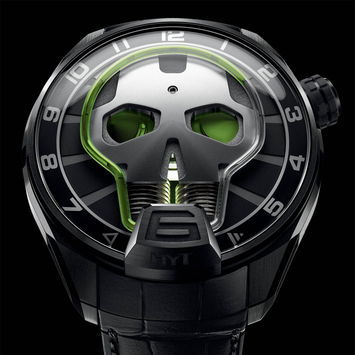 La Cote des Montres : Photo - HYT Skull