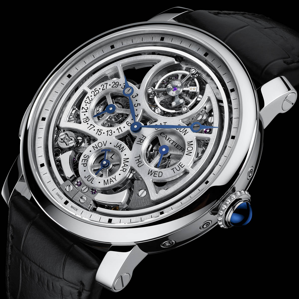 The Watch Quote: Photo - Rotonde de Cartier Grande Complication