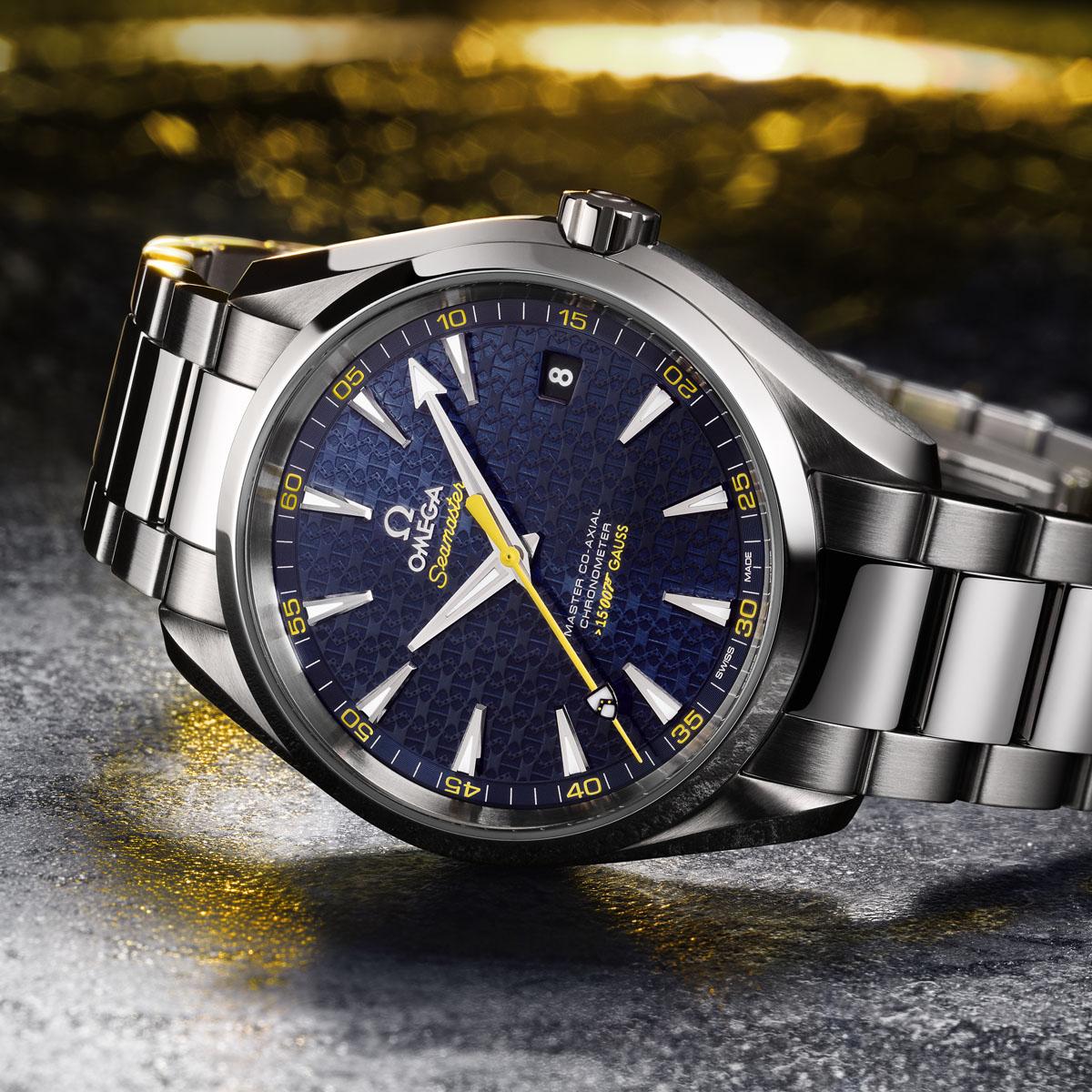 La Cote des Montres : Photo - Omega Seamaster Aqua Terra James Bond