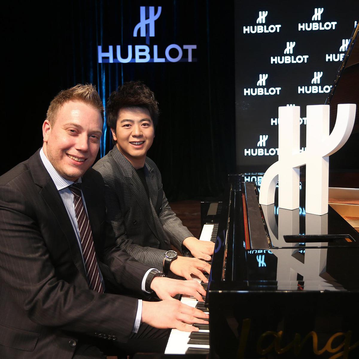 The Watch Quote: Photo - Lang Lang becomes a Hublot ambassador