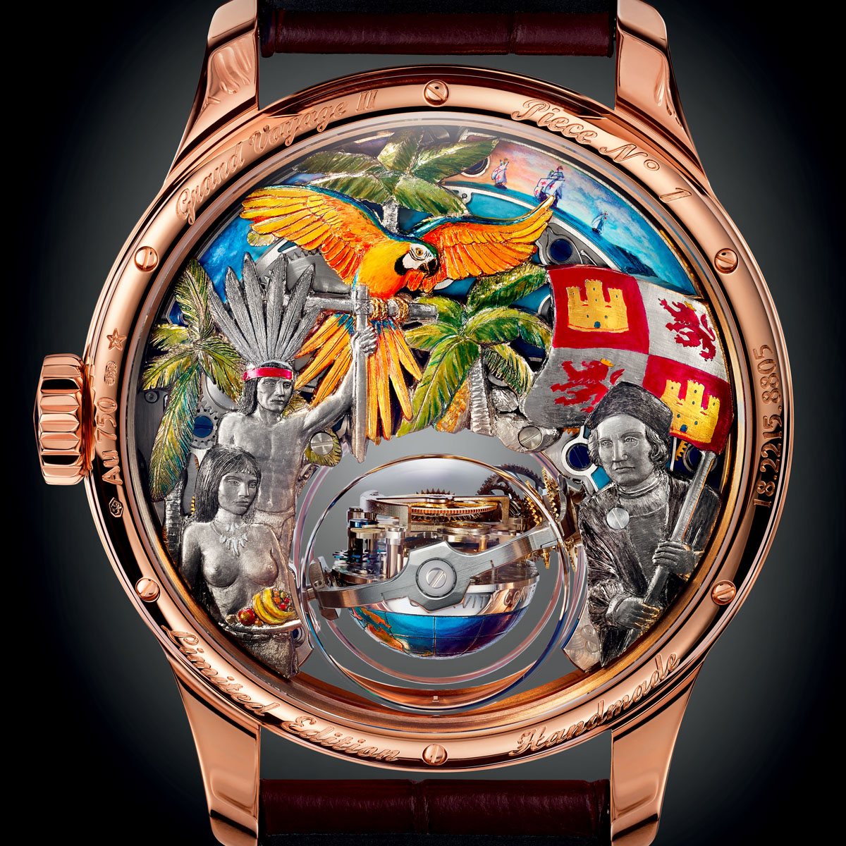 La Cote des Montres : Photo - Zenith Academy Christophe Colomb  Hurricane Grand Voyage II