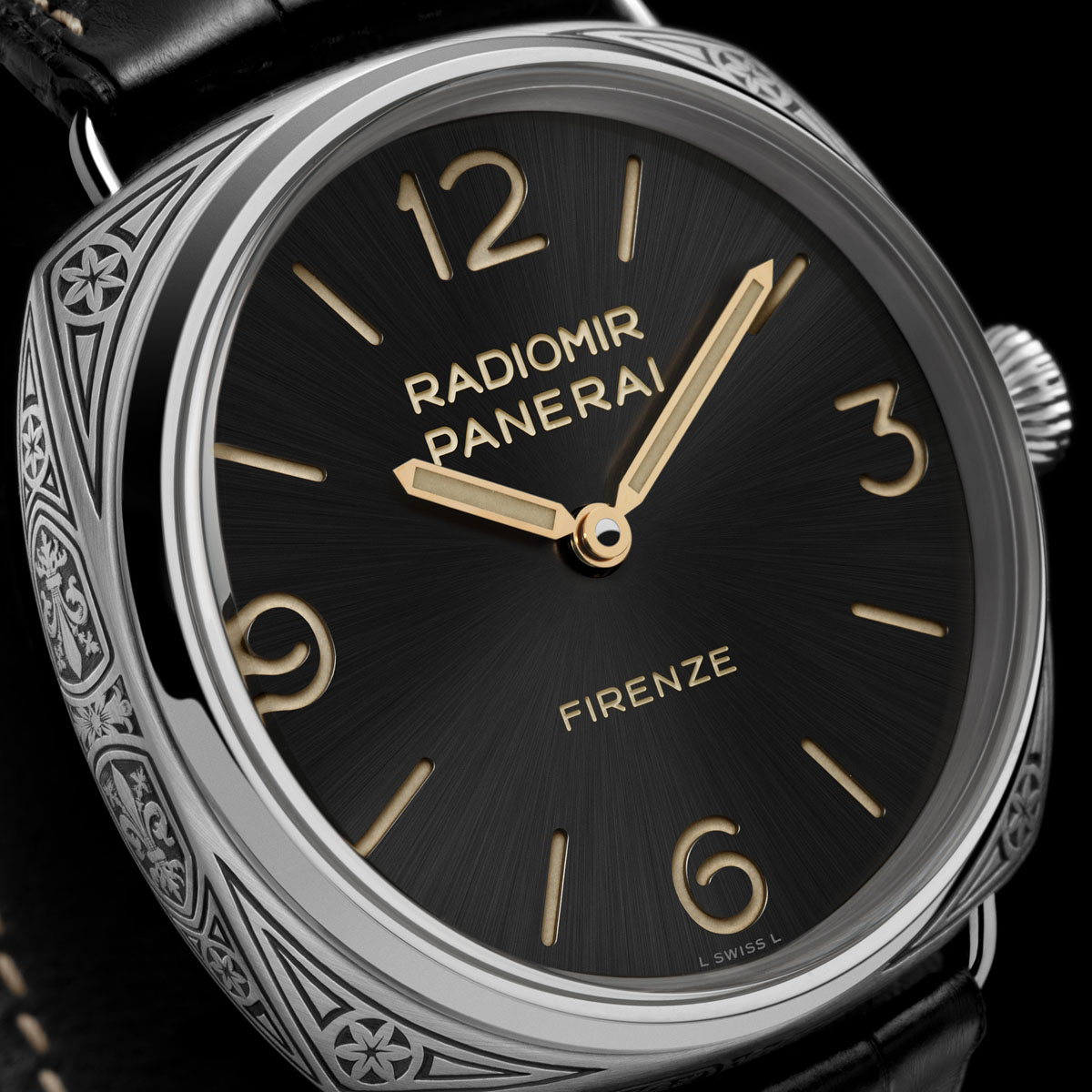 La Cote des Montres : Photo - Panerai Radiomir Firenze 3 days Acciaio – 47mm