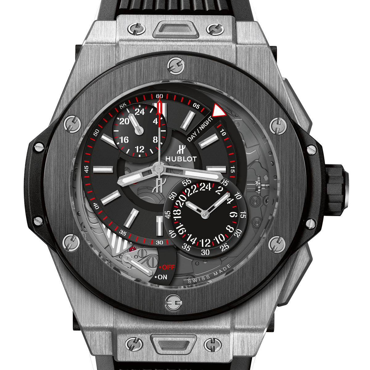 La Cote des Montres : Photo - Hublot Big Bang Alarm Repeater