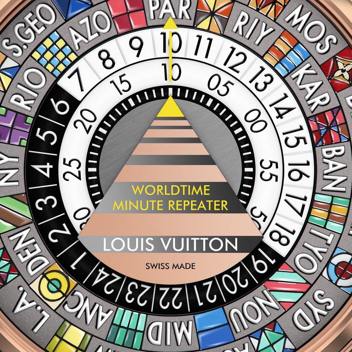 La Cote des Montres : Photo - Louis Vuitton Escale Répétition Minutes Worldtime