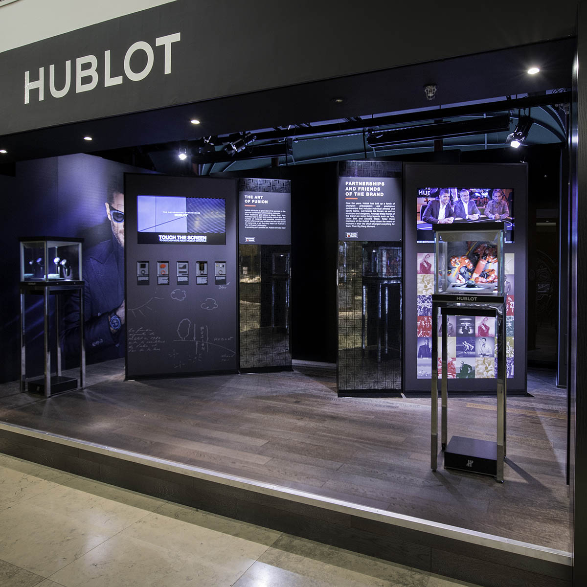 The Watch Quote: Photo - Hublot fluorescent fusion at Harrods