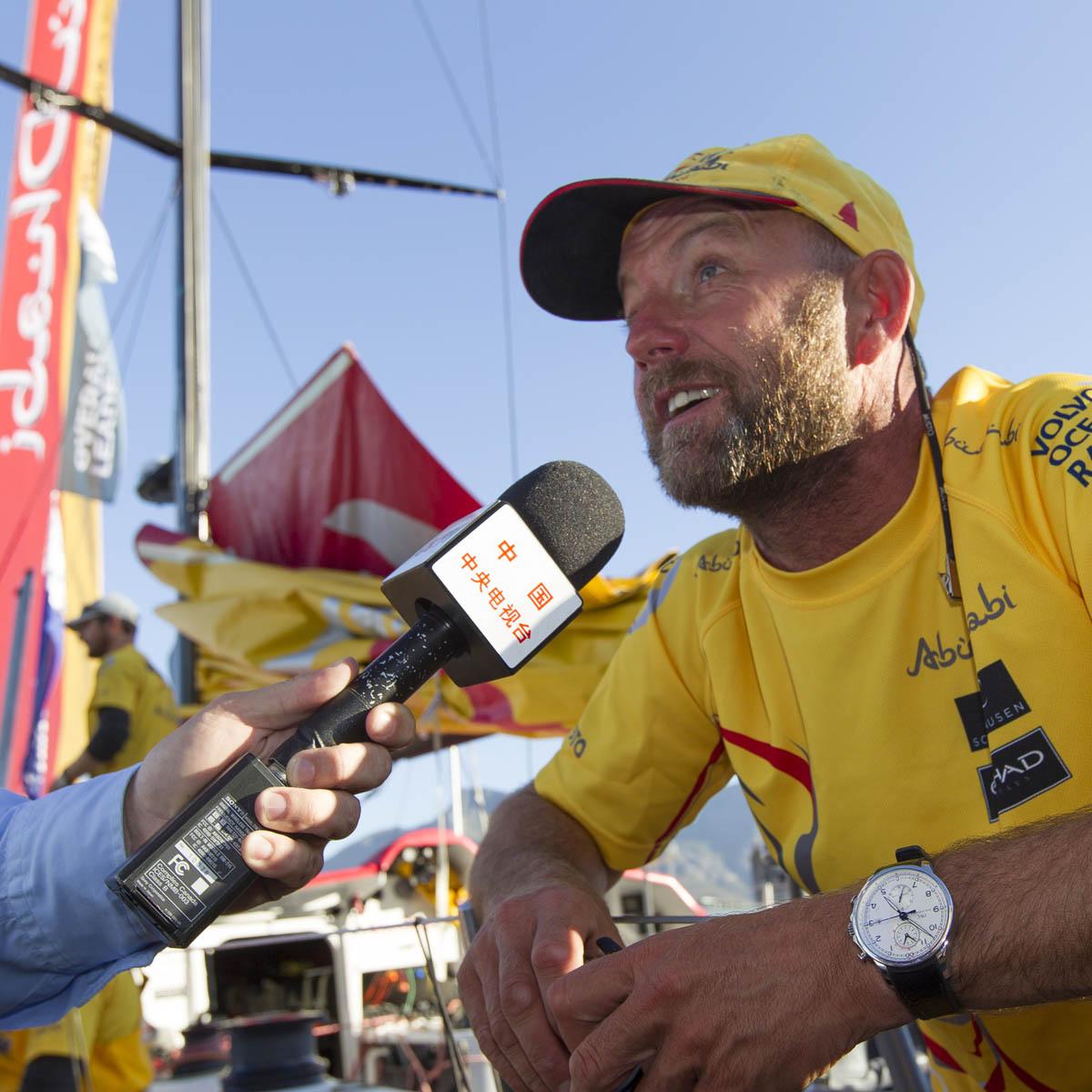 La Cote des Montres : Photo - IWC Schaffhausen célèbre la victoire d'Abu Dhabi Ocean Racing