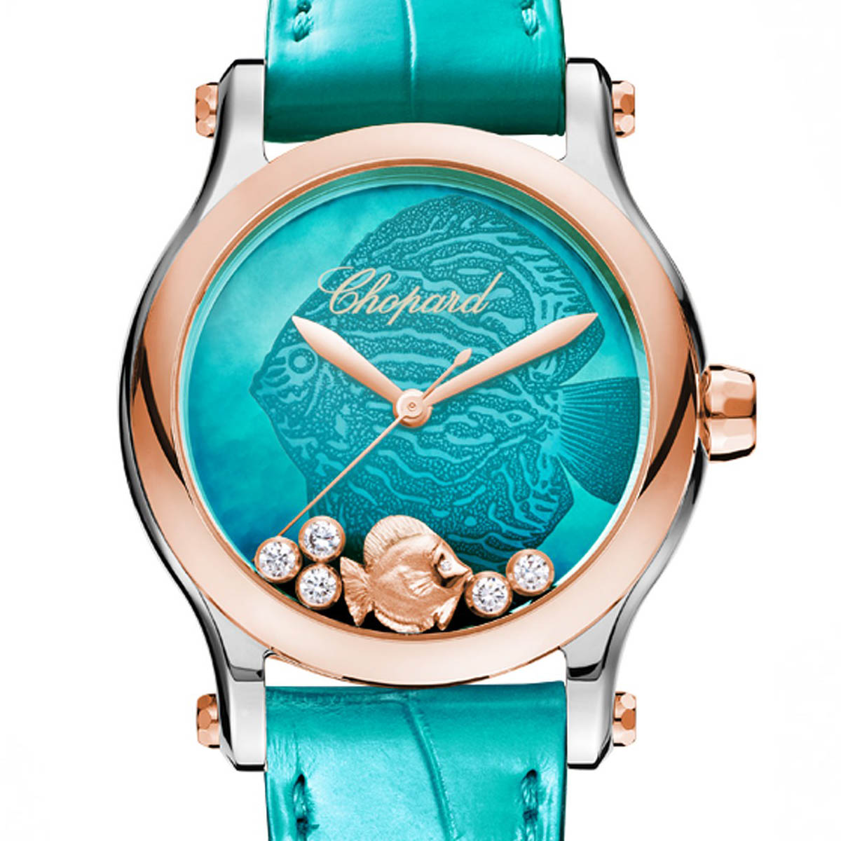 La Cote des Montres : Photo - Chopard Happy Fish