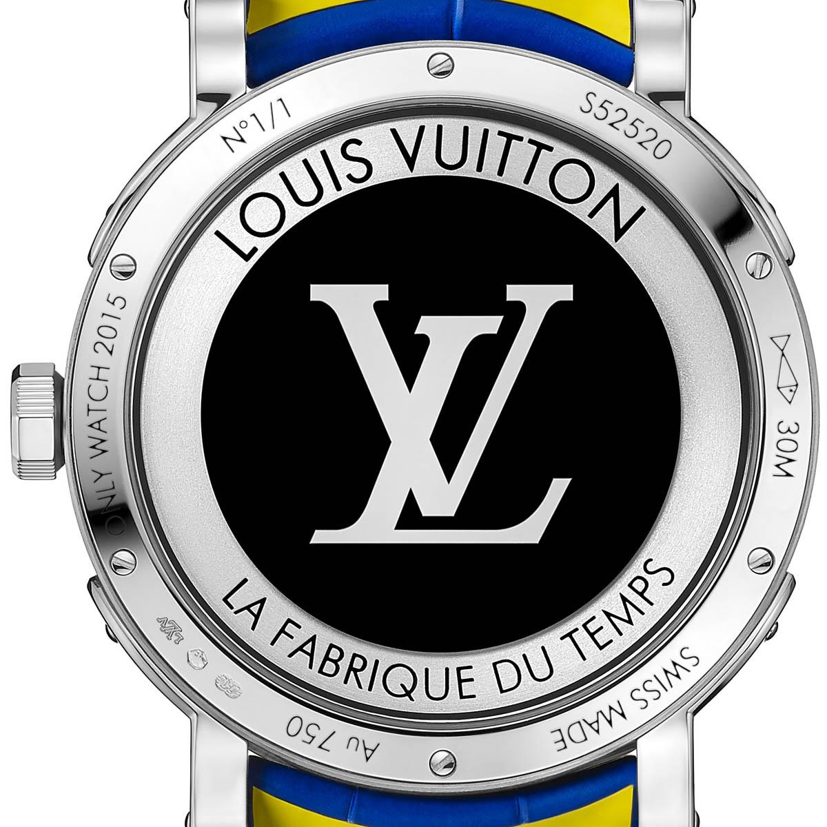 La Cote des Montres : Photo - Louis Vuitton Escale Worldtime Only Watch 2015