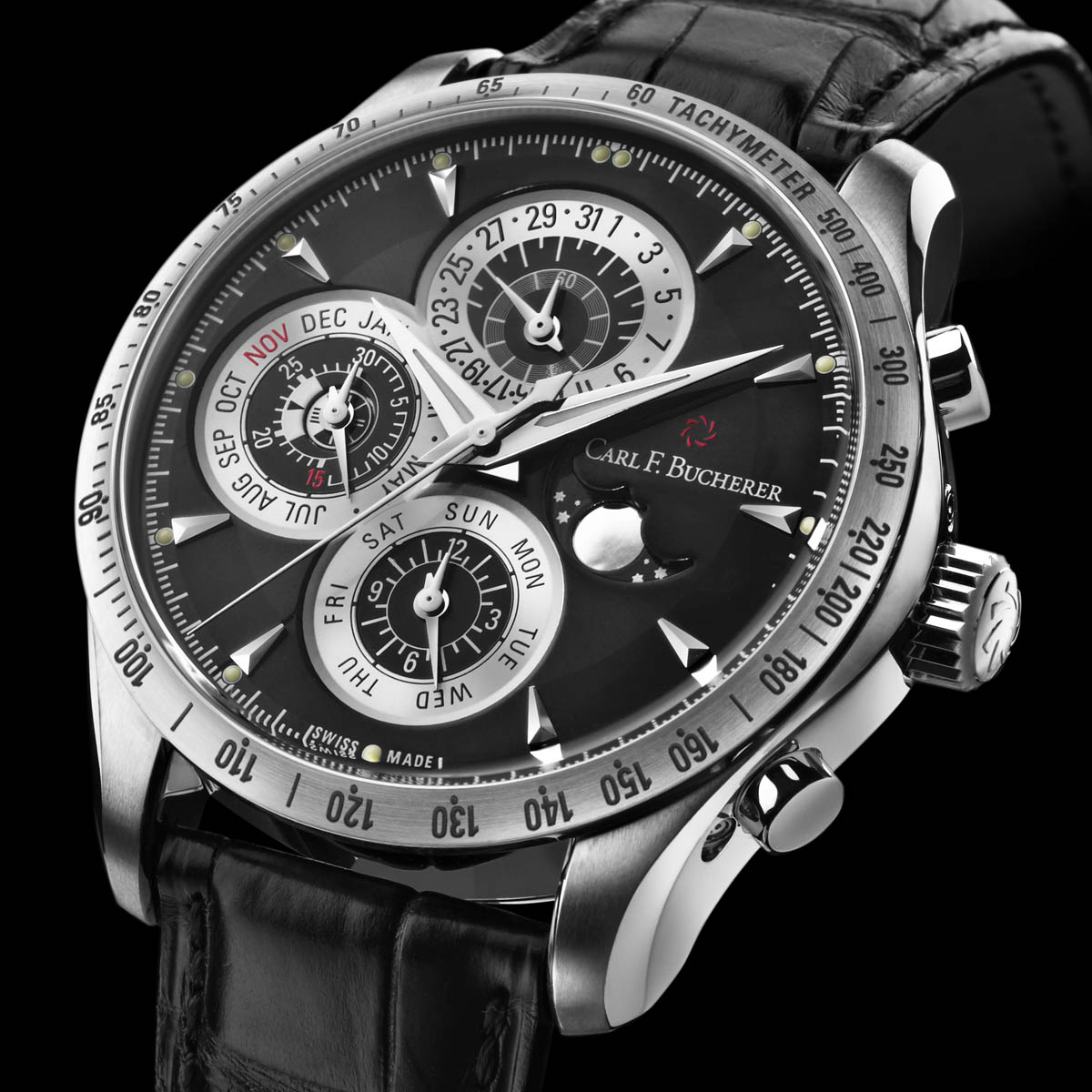 La Cote des Montres : Photo - Carl F. Bucherer Manero ChronoPerpetual Only Watch 2015