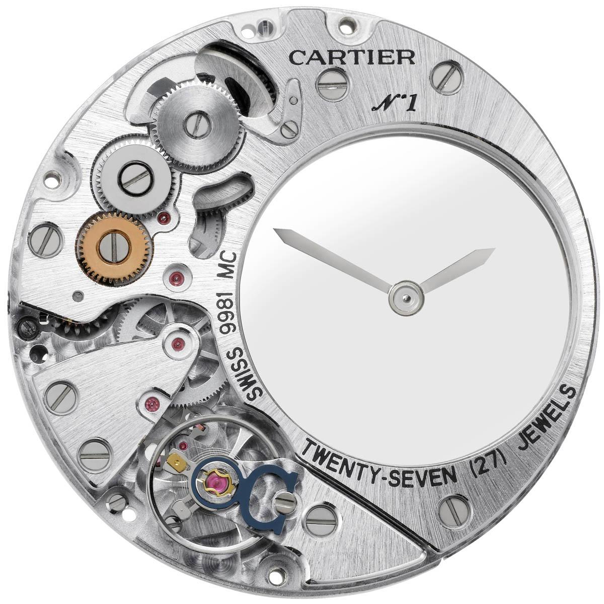 La Cote des Montres : Photo - Clé de Cartier - L'heure mystérieuse