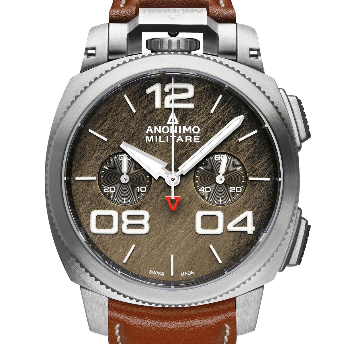 La Cote des Montres : Photo - Les nouvelles montres Anonimo Militare Classic et Nautilo