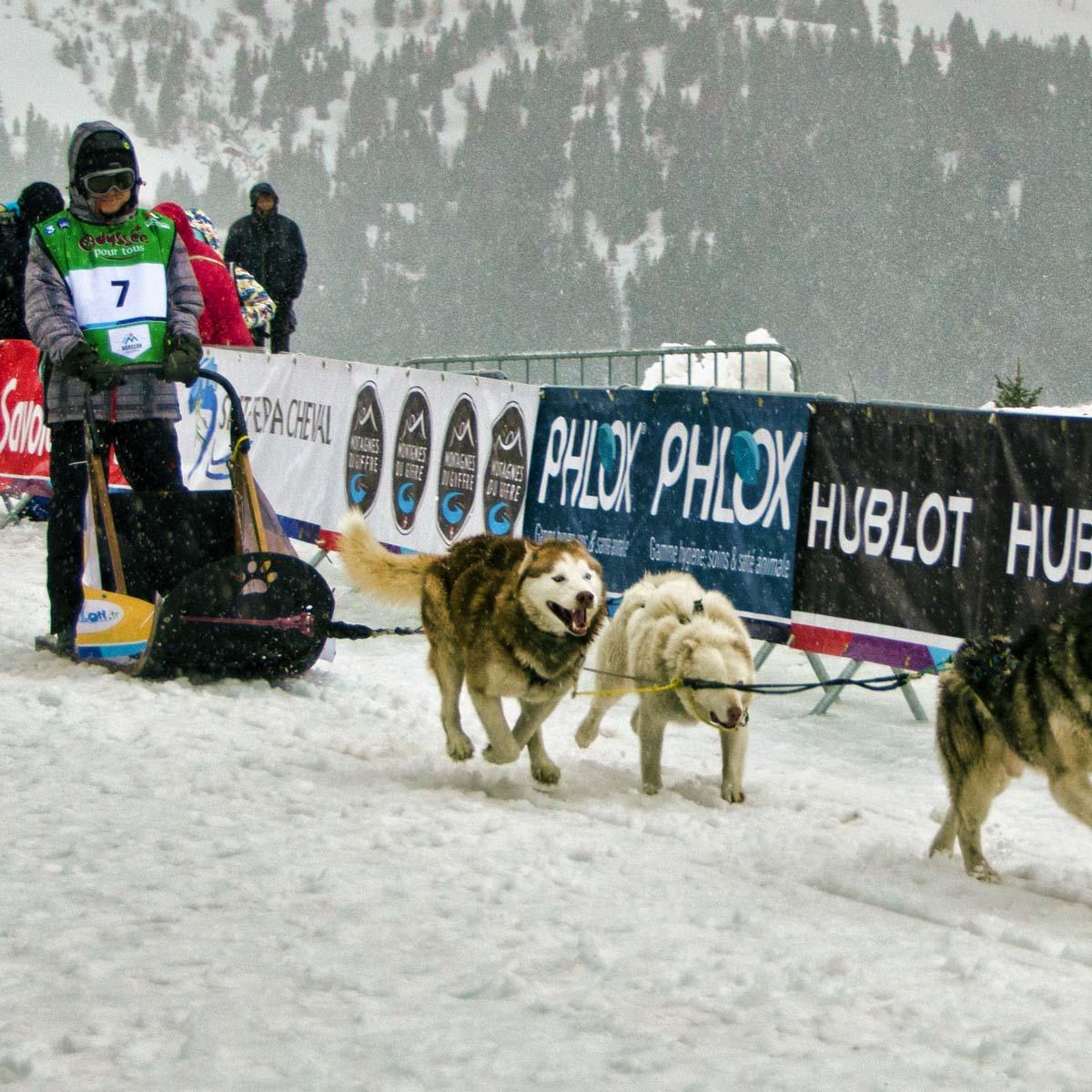 La Cote des Montres : Photo - La Grande Odyssée Savoie Mont Blanc 2016 à l'heure Hublot !